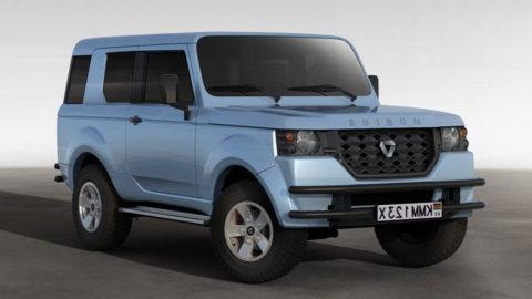 Un véhicule fabriqué en Afrique pour les Africains