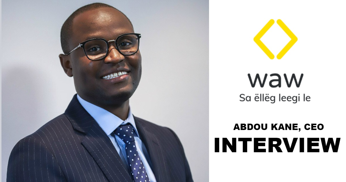 Interview avec Abdou Kane, CEO de WAW.