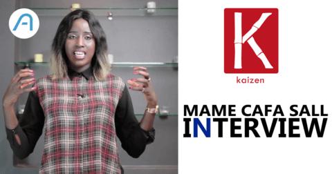 Interview : Mame Cafa Sall, fondatrice de Kaizen.
