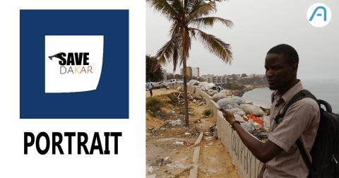 Mandione Laye Kebe, l'entrepreneur social qui veut sauver Dakar de ses déchets.