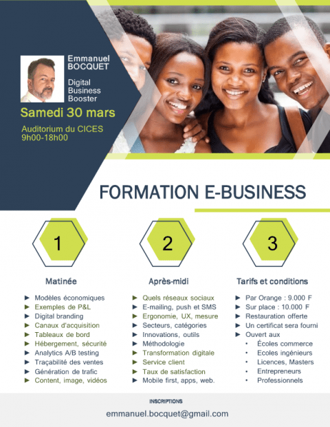 Formation E-Business