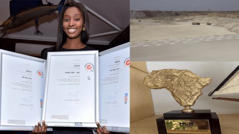 Rokhaya Sall Mbaye, directrice de MINEEX, reçoit le prix de la femme entrepreneure de l'année !