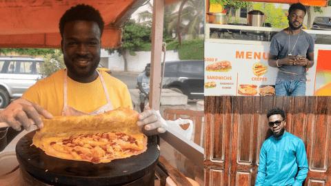 Moussa Diallo, l'entrepreneur devenu maître de la restauration rapide à Sacré Coeur.