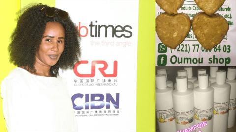 Diouma Sow, l'entrepreneure qui veut donner un nouveau souffle au cosmétique africain.