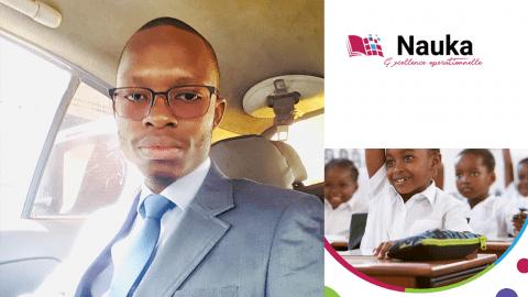 Abdoulaye Farba, l'entrepreneur qui digitalise l'enseignement au Sénégal.
