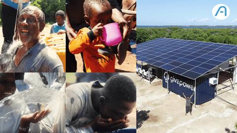 Kenya : Voici la première centrale solaire qui transforme l'eau salée en eau potable !