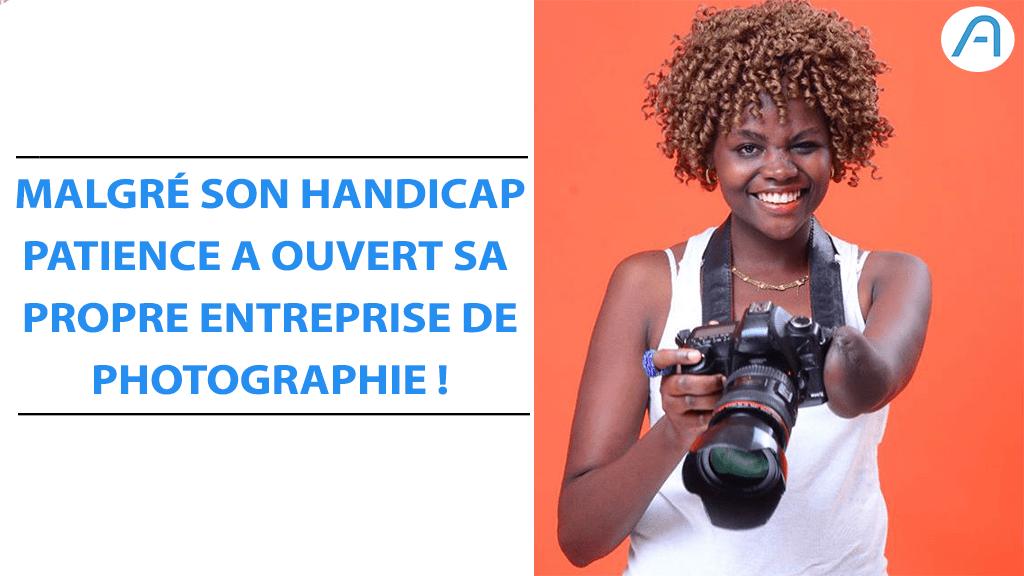 Entrepreneuriat – Victime des conflits en RDC, elle devient photographe avec une seule main !