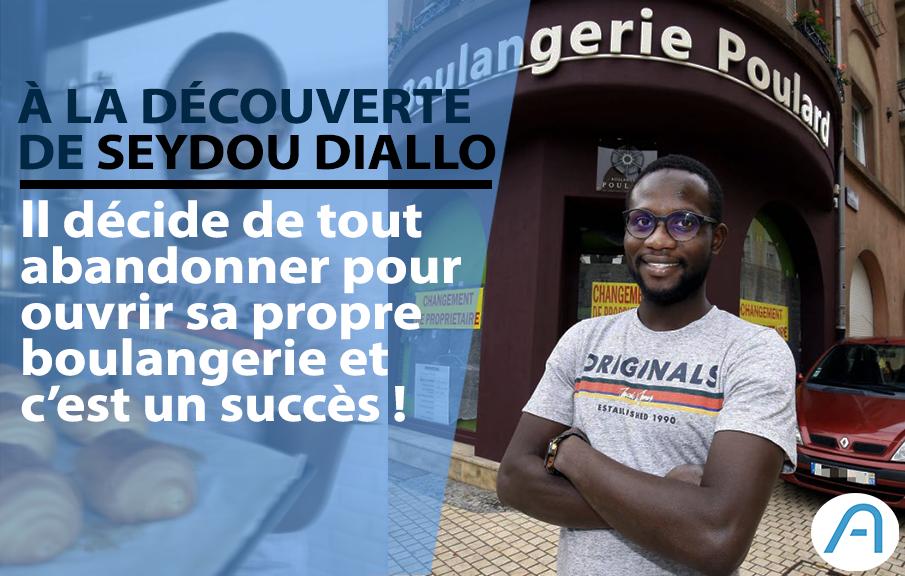 Découverte : Seydou Diallo, le chimiste qui rêvait de devenir boulanger.