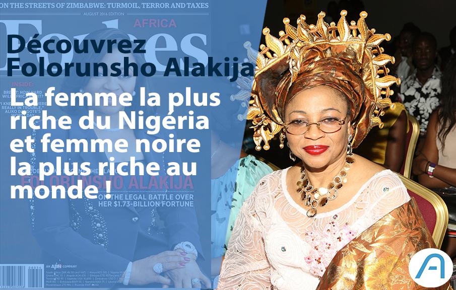 Découverte : Voici Folorunsho Alakija, la femme noire la plus riche au monde !