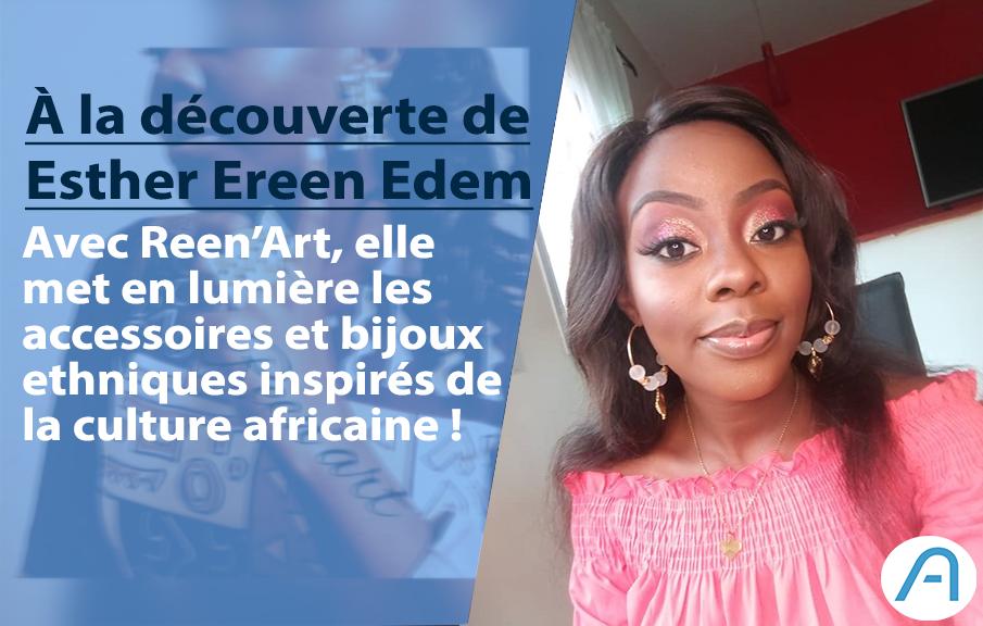 L'ivoirienne Esther Edem met en lumière les bijoux et accessoires des cultures africaines.