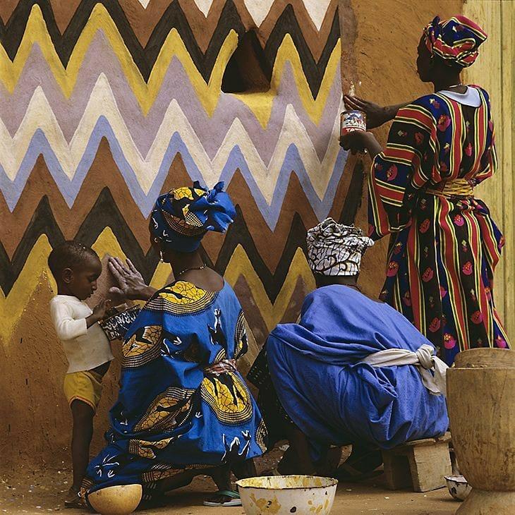 Femmes africaines peintres