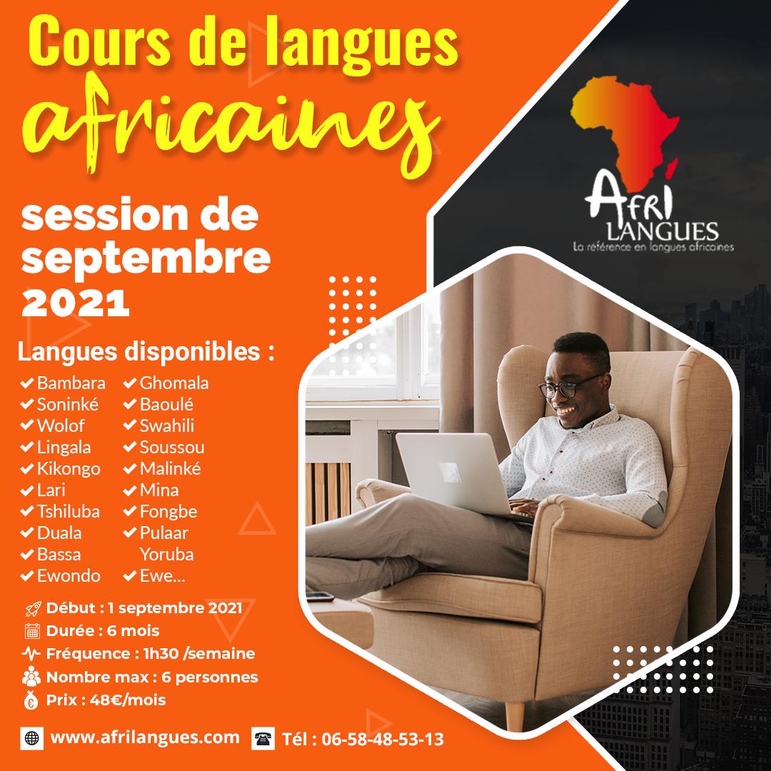 Cours de langues africaines - Afrilangue