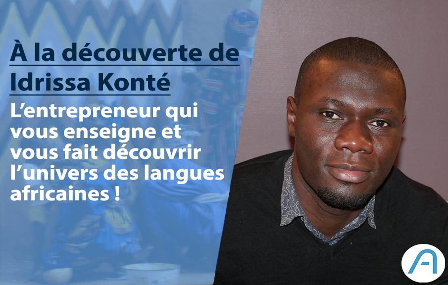 Avec Afrilangues, Idrissa Konté veut faire connaître les langues africaines à l'international !